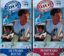 MICHAEL PALIN - AROUND THE WORLD IN 80 DAYS -  BBC - (4) VHS SET LOT - 1990