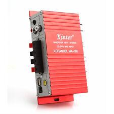 2-CH Mini Hi-Fi DC12V AMP Stereo USB Car Boat Audio Auto Power Amplifier MA-180