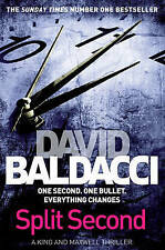 Split Second by David Baldacci (Paperback) New Book