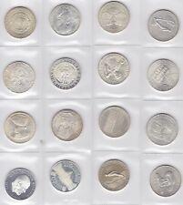 Silber Silbermünzen Lot  28 x 50 Schilling  640 u 900er Silber  478 g Feinsilber
