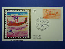 LOT 12107C TIMBRES STAMP ENVELOPPE AVIATION ESPACE FRANCE ANNEE 1985