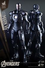 Hot Toys MMS282 1/6 IRON MAN 3 Mark 7 MK VII Stealth Mode Ver free shipping