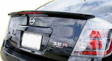 Fits 2007-2012 Sentra OE Factory Style Painted Spoiler Wing Black Clearcoat KH3