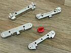 Arrma 1/7 Mojave 6s BXL Aluminum Front and Rear Suspension Arm Mount Silver