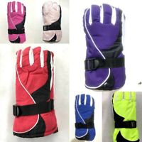 Adults Women's Winter Outdoor Sports Gloves Ski Gloves Snow Skiing Windproof