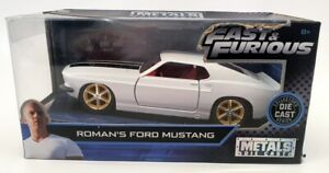Jada Fast & Furious 1/32 Scale 99517 - Roman's Ford Mustang - White