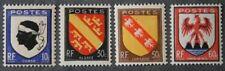 1946 FRANCE TIMBRE Y & T N° 755 à 758 Neufs * * SANS CHARNIERE