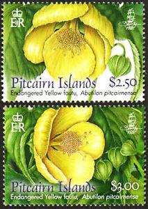 Pitcairn Island Stamp - Fauta Flower Stamp - NH