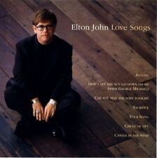 ELTON JOHN love songs (CD, compilation) soft rock, downtempo, synth pop rock