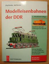 Modelleisenbahnen der DDR Sämtliche Loks und Triebwagen HO Modelle Typen Buch 3