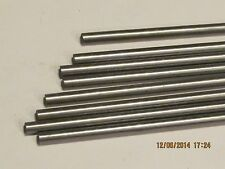 """8 MM  Steel Rod / Bar Round 12L14 CRS 6"""" Long    1 Pc"""