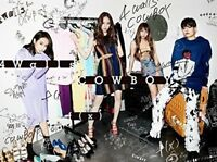 New f(x) 4 Walls COWBOY First Limited Edition CD+DVD+Trading Card AVCK79347