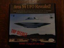 Testors AREA S4 UFO Revealed! 1:48 Bob Lazar Top Secret Model Kit NIOB