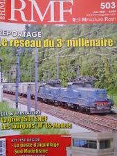 RMF Rail Miniature Flash n°503 2007 Le Reseau du 3° millenaire [TR.33]