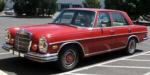 MERCEDES BENZ W108 250S 280S 280SEL LHD CARPET KIT 1965-73