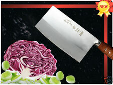 Handmade Japanese VG-10 Steel Cleaver 7 inch Chopping Knife 1.6mm Thickness