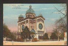 LANDAU (ALLEMAGNE) SYNAGOGUE animée en 1928