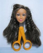 Barbie Doll Fairytopia Mermaidia Butterfly Fairy HEAD ONLY BROWN HAIR LEA FACE