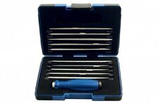Laser 5044 Screwdriver Set Adjustable Length Blades + FREE Kamasa Screwdriver