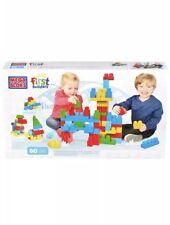 Mega Bloks First Builders 80 piece set age 1-5 New Large box set building blocks