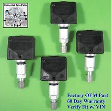 Set of 4 Nissan TIRE PRESSURE SENSOR TPMS OEM 40700 1AA0D Schrader SET-TS35