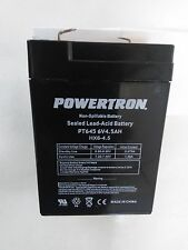 BATTERY REPL. MK ES4-6,6V 4AH,VRLA,EACH