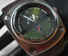 "RARE! Men's Green Diesel Chronograph Watch ""Only the Brave"" DZ-1200-WW NEW BATT!"