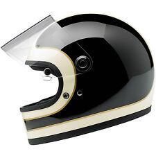 Biltwell Gringo S Full Face Motorcycle Helmet w/ Visor - Choose Size & Color