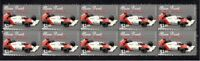 ALAIN PROST F1 WORLD CHAMPION STRIP OF 10 MINT VIGNETTE STAMPS 3