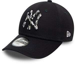 New York Yankees Era 940 Niños Camuflaje Relleno Marino Gorra Béisbol (4-12 Año