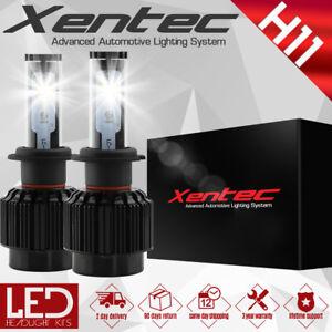 XENTEC LED HID Headlight kit H11 White for 2006-2007 Chevrolet Monte Carlo