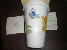 New ListingLenox - Butterfly Meadow - Thermal Travel Mug With Lid- 12 Oz. Brand New In Box