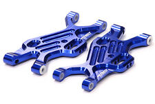 T7796BLUE Integy Billet Machined Front Suspension Arms for Associated SC10 4X4