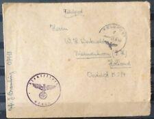 NEDERLAND; VELDPOSTBRIEFJE verstuurd naar Nederland (2)