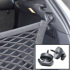 2PCS Tie Down Hook Loop Clips Ring Screws For Rear Trunk Boot Cargo Envelope Net