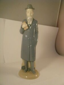NADAL Porcelain Judaica Rabbi Figurine Spain