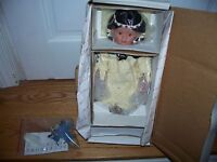 Prairie Flower by FayZah Spanos Danbury Mint 12 inch Porcelain Doll in Box