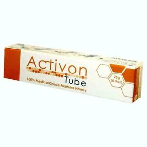 Activon Tube Medical Grade Manuka Honey For Wounds & Burns 25g **Free Delivery**