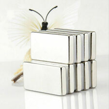 Super Strong Block Rare Earth Neodymium Magnets 3 Sizes UK