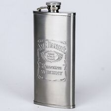 Jack Daniel's Tennessee Whiskey Flask Stainless Steel5 ounce Hip Flask