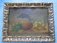 peinture 1930 signé MARCEL DELAUNAY 1876/1959 HSP ECOLE ROUEN NATURE MORTE Coté