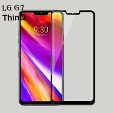 For LG G7 ThinQ 3D Edge to Edge Genuine Tempered Glass Screen Protector Black