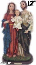 """SAGRADA FAMILIA /HOLY FAMILY 12"""" INCH Jesus,Maria Y Josè NEW 6398-12"""