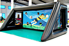 25x20x15 Commercial Inflatable Shooting Football Soccer Game Jump Bounce House