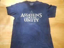 OFFICIAL ASSASSIN'S CREED UNITY  BLACK T-SHIRT SIZE: MEDIUM