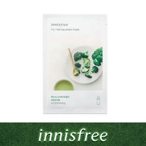 Innisfree My real squeeze sheet mask Broccoli