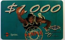 1994 Classic Assets Premiere Edition $1,000 Phone Card Sample Shaquille O'neal