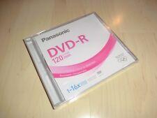 Panasonic DVD-R 1-16x Speed / 120 Minuten / 4,7GB, OVP&NEU