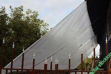 TOLDO Lona transparente resistente al desgaste fabricada filtro 3x4m v UV 280111