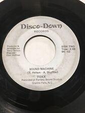 Rare Funk 45 - Foxx - Sound Machine on Disco-Down NC Garage Funk